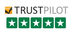 Pardot Trustpilot 5 stars