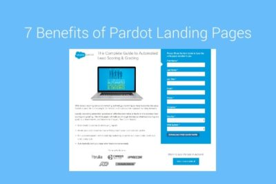 7 benefits of Pardot landing pages