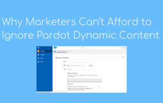 dynamic content personalisation with Pardot
