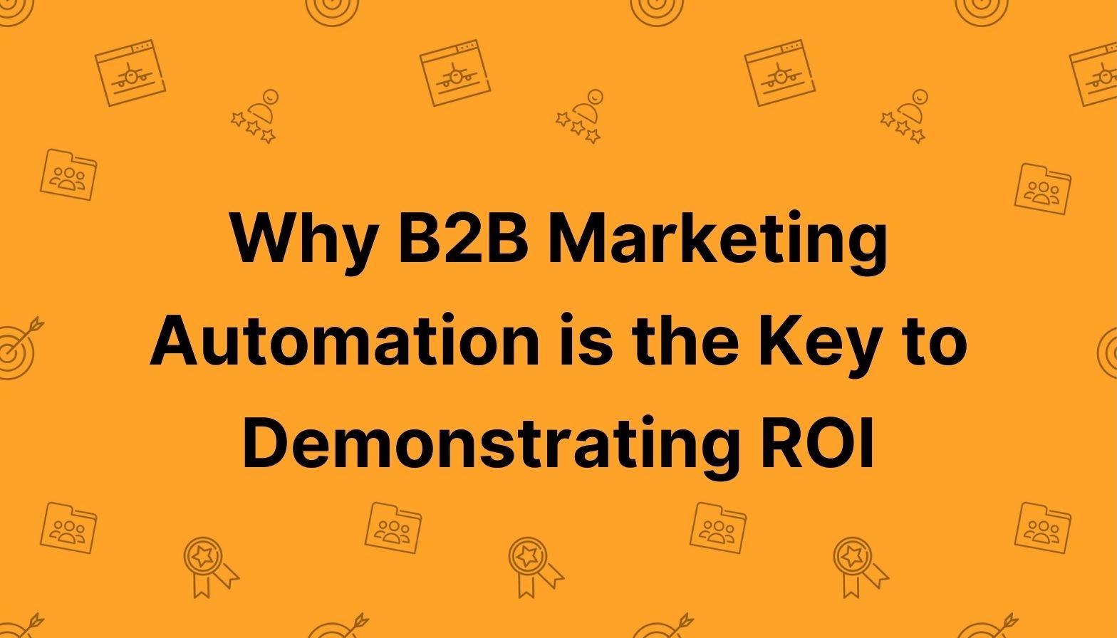 Blog feature image - b2b marketing automation