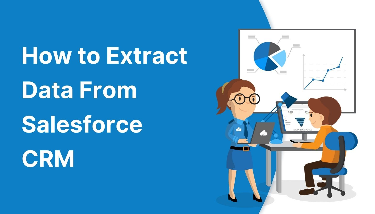 Blog feature - how to extract data from salesforce CRM