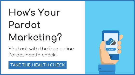 Take the free Pardot health check by clicking here