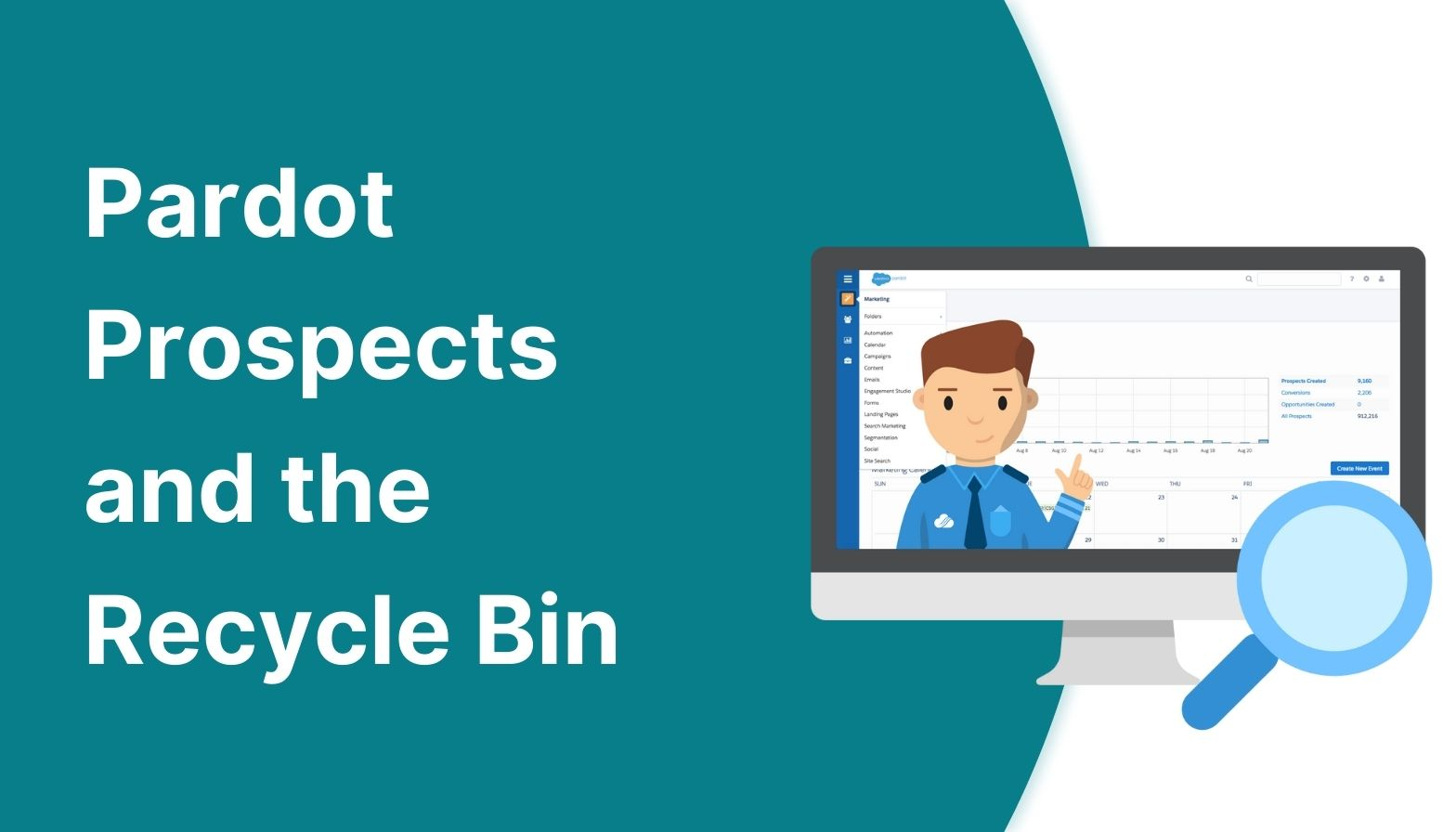 Feature image: Pardot prospects and the recycle bin