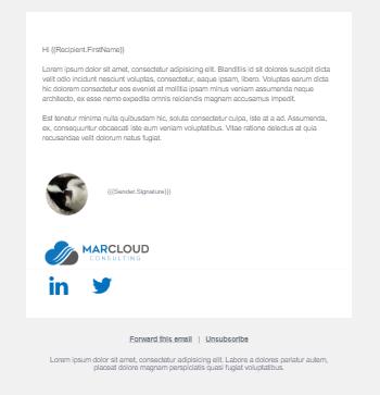 Pardot Sales Email Desktop