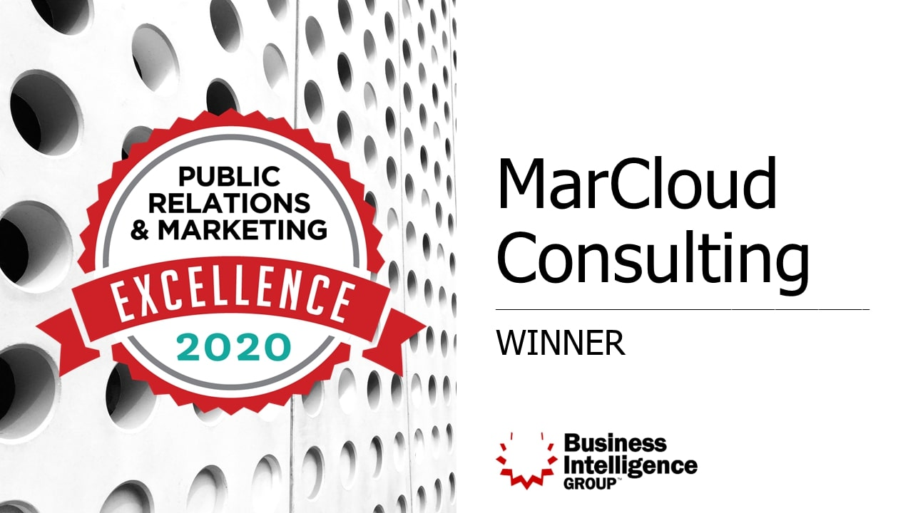MarCloud Consulting winners badge