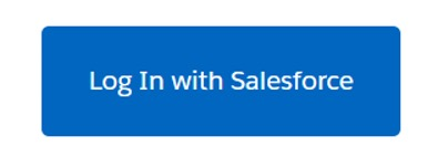 Screenshot of log in with salesforce button