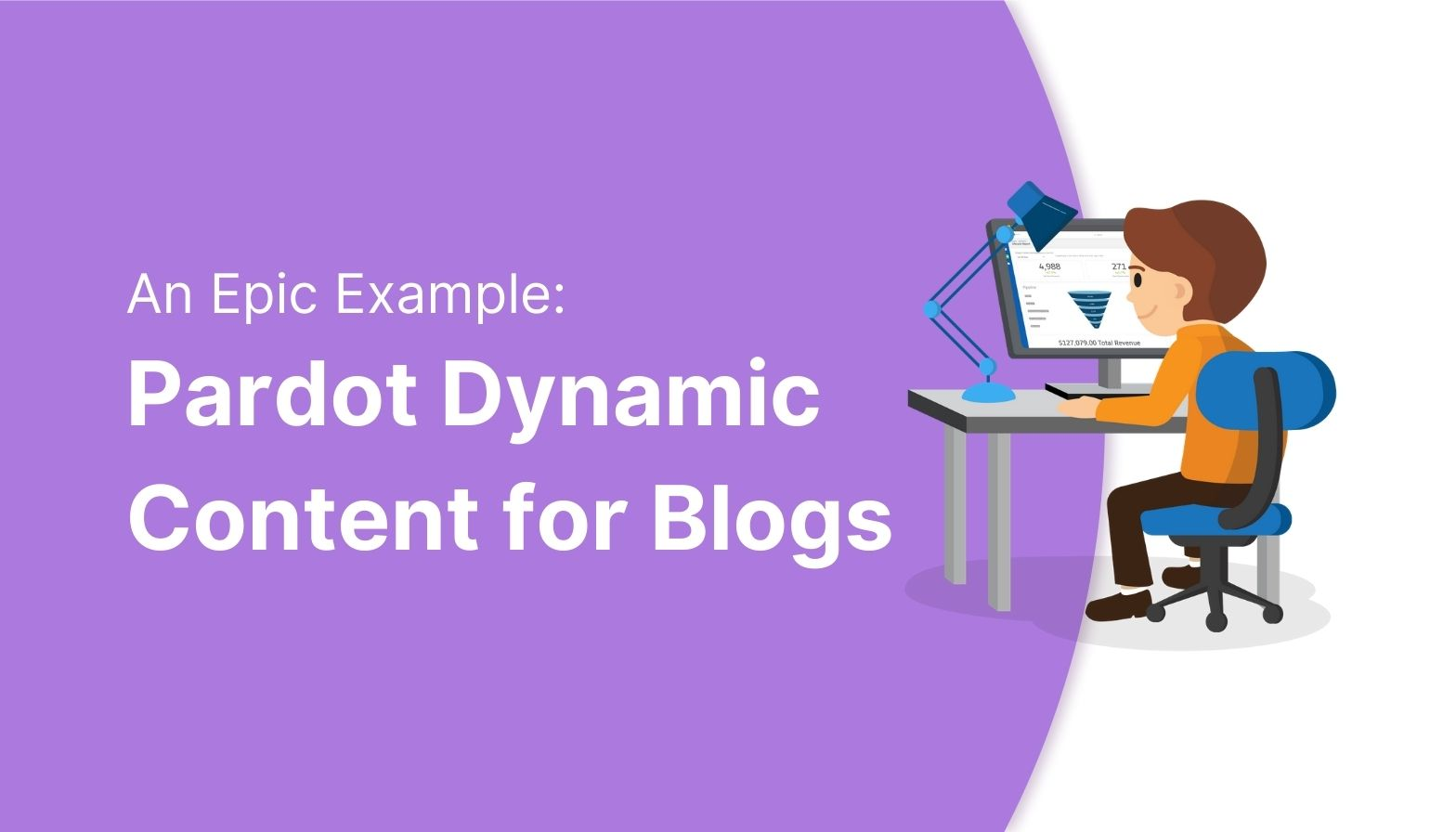 Example of Pardot dynamic content for blogs