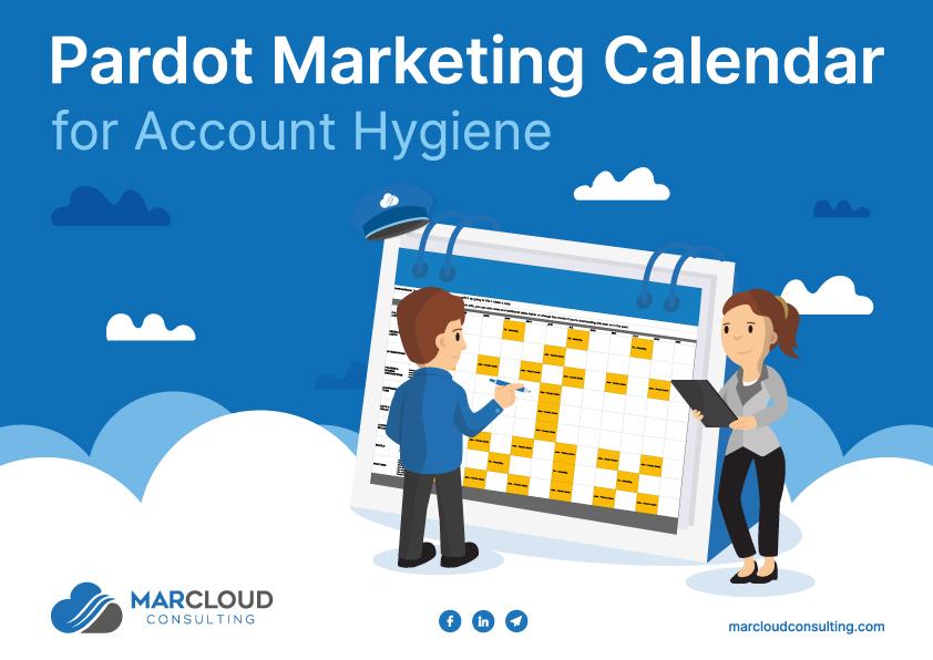 Click to download the free Pardot marketing calendar