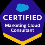 Marketing Cloud Consultant Badge