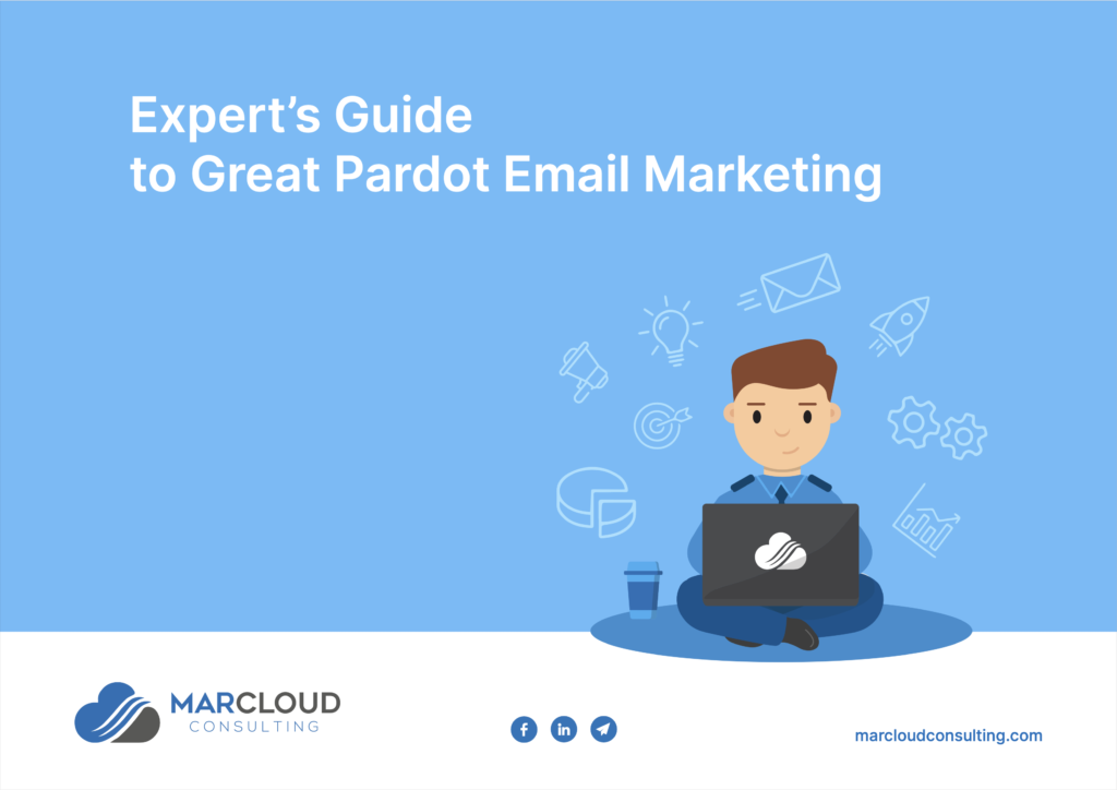 Cover of the Expert's Guide to Great Pardot Email Marketing