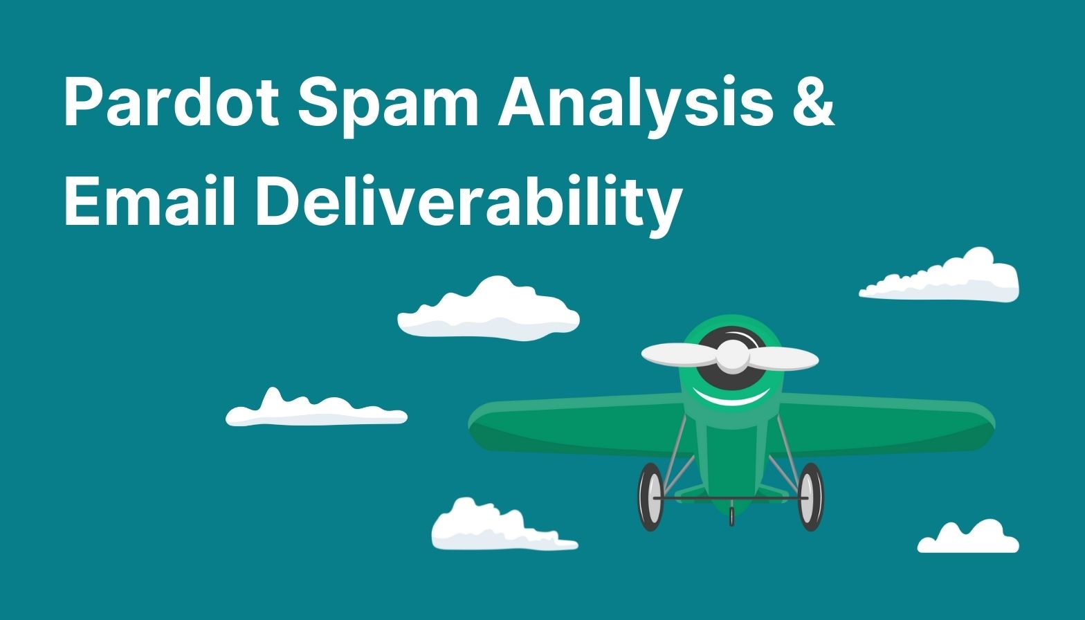 Feature image: Pardot spam analysis and email deliverability